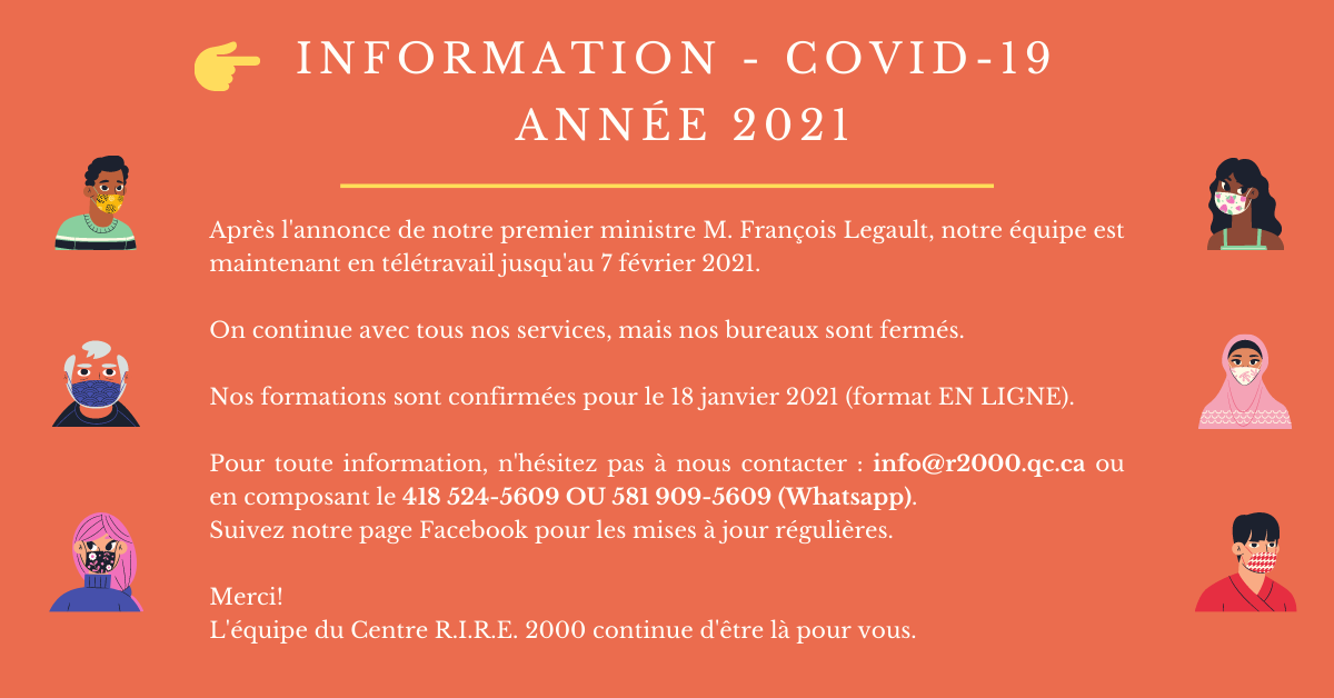 INFORMATION COVID 19 2021